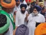 Video : Akali Dal Chief Sukhbir Badal Faces Farmers' Ire On Home Turf