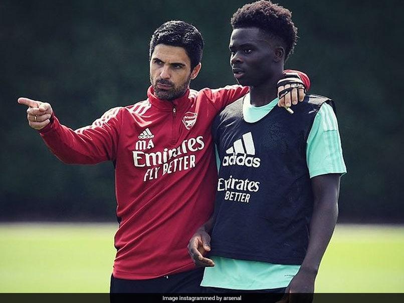 Bukayo Saka Given Wall Of Support At Arsenal After Euro 2020 Penalty Abuse