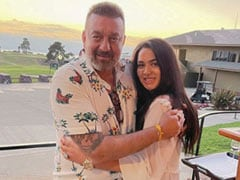 """Trishala Started """"Chapter 33"""" Of Her Life With Dad Sanjay Dutt By Her Side. See Her Post"""