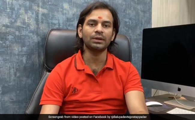 Rashtriya Janata Dal's Tej Pratap Yadav Seeks Action Against State Party Chief Jagdanand Singh