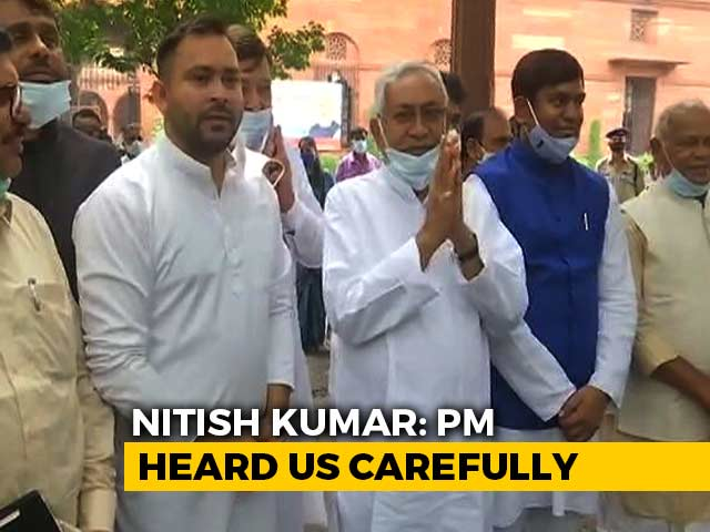 Video : United Over Caste Census, Rivals Nitish Kumar, Tejashwi Yadav Meet PM