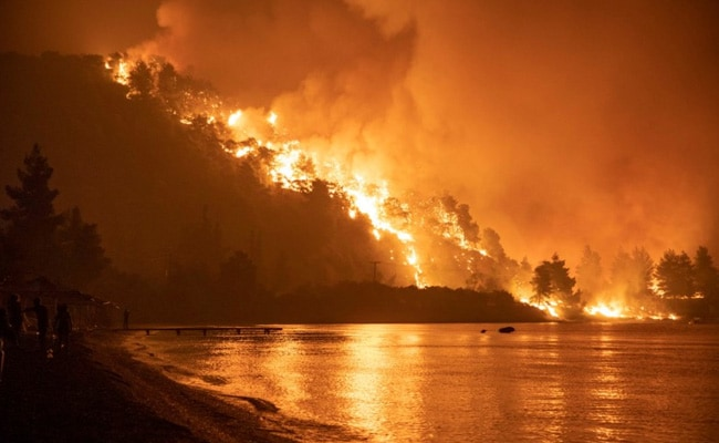 Greece Battles Wildfires For Fifth Day In Nightmarish Summer