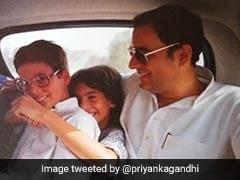 """On Rakhi, Rahul Gandhi's Message For """"Friend And Protector"""" Priyanka"""