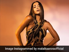 Malaika Arora In A Fierce And Fitted Leopard Print Dress Has Us Roaring In Approval