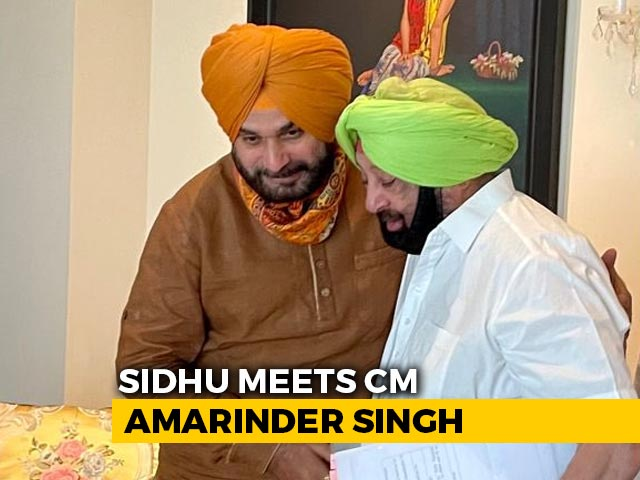 Video : Navjot Sidhu's 'Roster For Ministers' Plan In Meet With Amarinder Singh