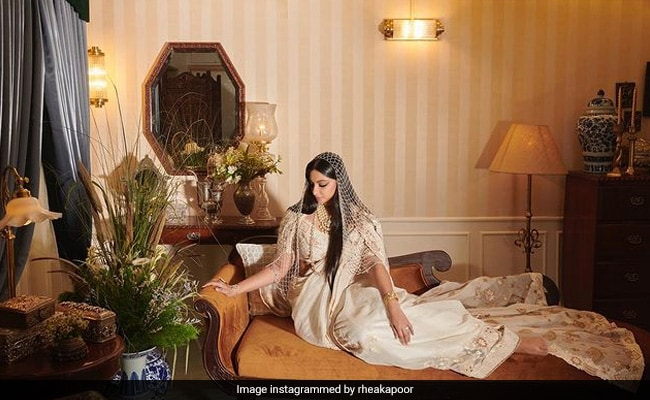 Rhea Kapoor, On Her 'Most Vulnerable Day,' Wore Jewelry Designed By Mom Sunita