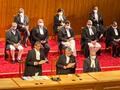 In A First, 9 Supreme Court Judges Take Oath In One Go