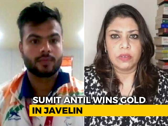 Video : Neeraj Chopra's Gold Inspired Me, Also Put Pressure: Sumit Antil