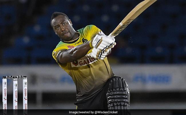 आंद्रे रसेल ने मचाई तबाही CPL में की 6 छक्कों की बारिश पाकिस्तानी गेंदबाज के ओवर में जड़े 32 रन Video