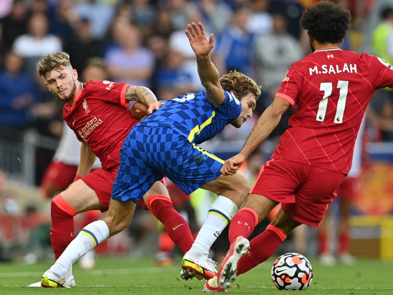 Premier League: Ten-Man Chelsea Hold Liverpool To 1-1 Draw At Anfield