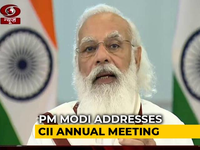 Video : We Have Undertaken Reforms, No Small Decisions, Says PM At CII Event