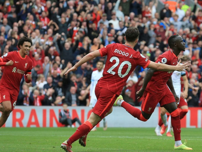 Premier League: Liverpool Cruise Past Burnley 2-0 At Anfield