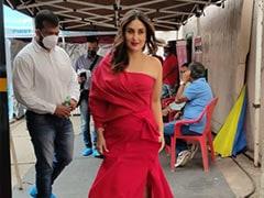 Kareena Kapoor Is Prettier Than The Dancing Girl Emoji In Her Gorgeous Red Dress