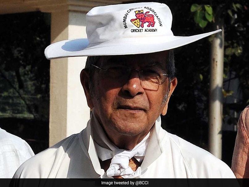 BCCI Condoles Death Of Cricket Coach Vasu Paranjpe