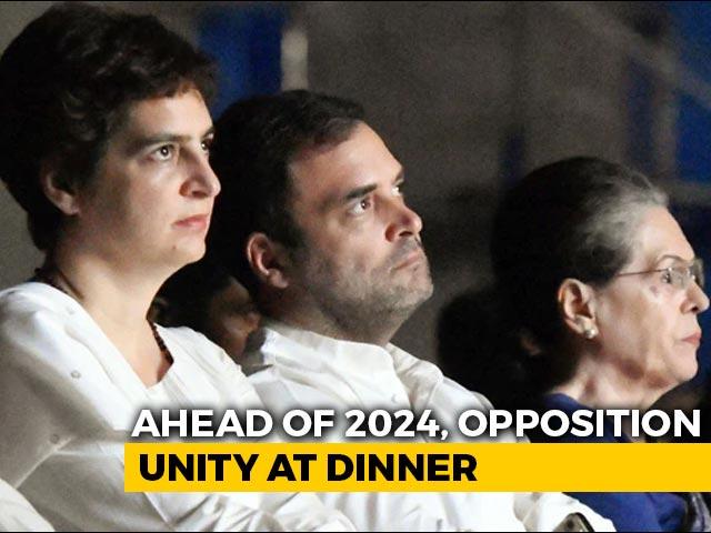 Video : At Kapil Sibal's Dinner For Opposition, Questions On Gandhis' Leadership