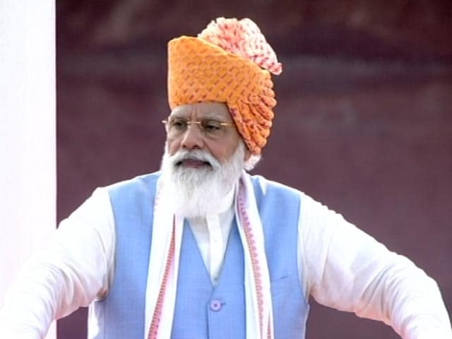 """Video : """"This Is India's Priceless Moment..."""": PM Modi's Ode On Independence Day"""