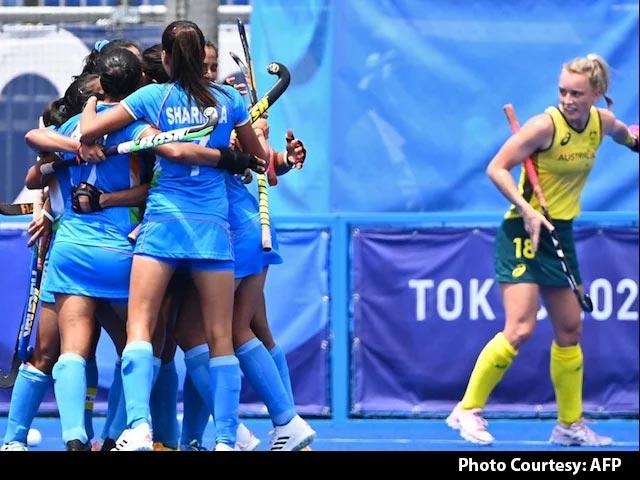 Video : India Stun Australia, In Women's Hockey Semis For 1st Time