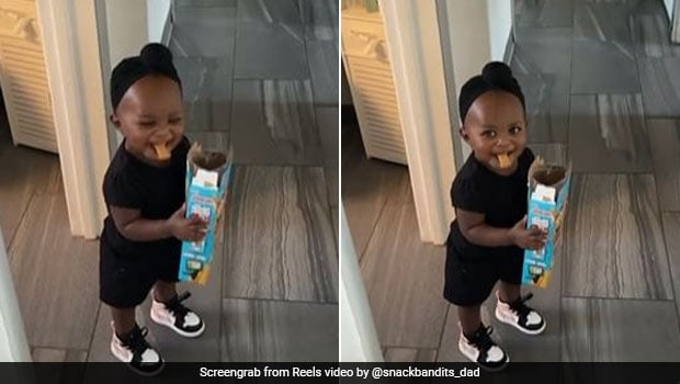 Dad Catches Daughter Stealing Food; Adorable Viral Videos Will Make Your Day