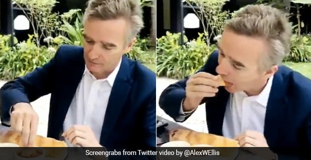 British Official Eats Dosa With Hands, Desi Foodies Are Loving It