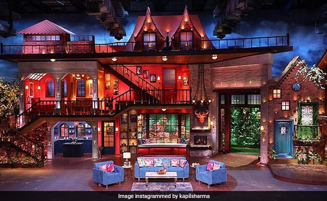 Inside The New Set Of The Kapil Sharma Show. Excited Much?