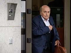 Ex-FIFA Boss Sepp Blatter Arrives For Payment Probe Hearing