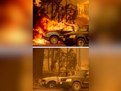 """""""Neighbourhood Is Gone"""": Before And After California's Monster Wildfire"""