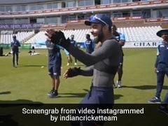 "Watch: Rohit Sharma's ""Unique"" Game Leaves Virat Kohli, India Teammates In Splits"