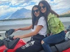 Keep The Vacation Pics Coming, Sara Ali Khan And Radhika Madan