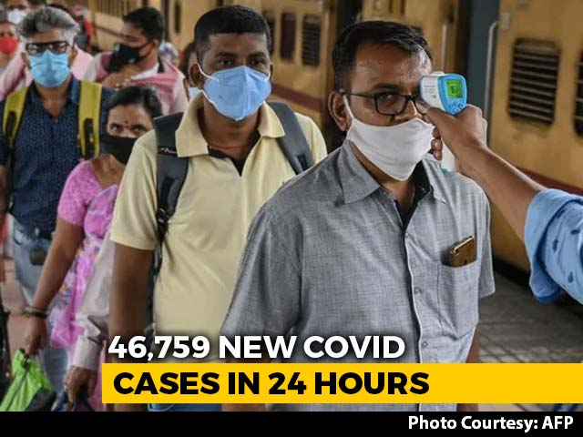 Video : India Sees Highest Daily Rise In Covid Cases In Nearly Two Months