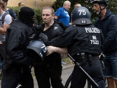 Scuffles In Germany's Capial As COVID-19 Sceptics Defy Protest Ban