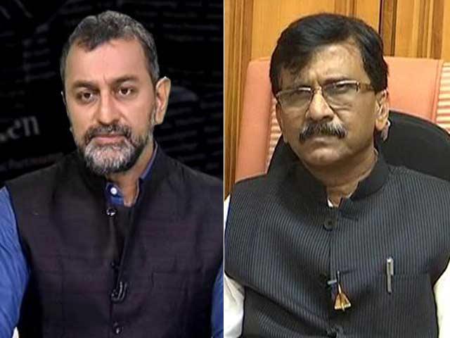 Video : Minister Narayan Rane's Arrest Vendetta Or Justice? Sena's Sanjya Raut Clarifies