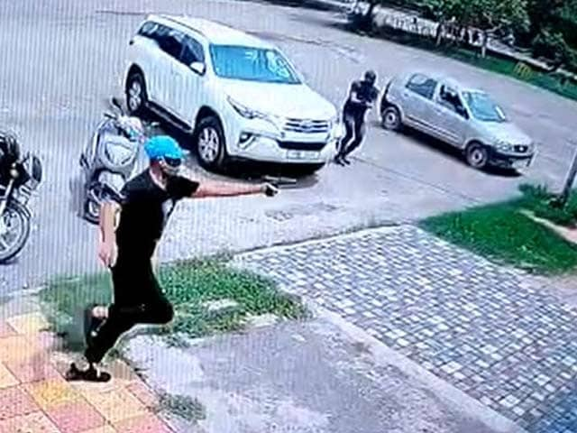 Video : On CCTV, Youth Akali Leader Shot Dead, 20 Rounds Fired At Him