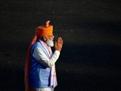 """PM Sets """"100%"""" Goal, Calls For """"<i>Sabka Prayas</i>"""" On 75th Independence Day"""