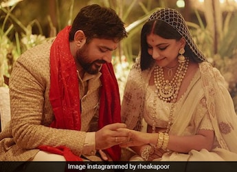 Newlyweds Rhea Kapoor And Karan Boolani Celebrate With This Delicious Cake