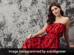 Kriti Sanon Brings A Dose Of Retro Glam With Her Ravishing Red Dress