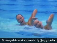 Tokyo Olympics 2020: Israeli Swimmers Performed To '<i>Aaja Nachle</i>'