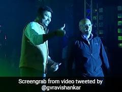 Freshworks CEO Girish Mathrubootham Has All The Right Dance Moves, As A Rajini Fan Should