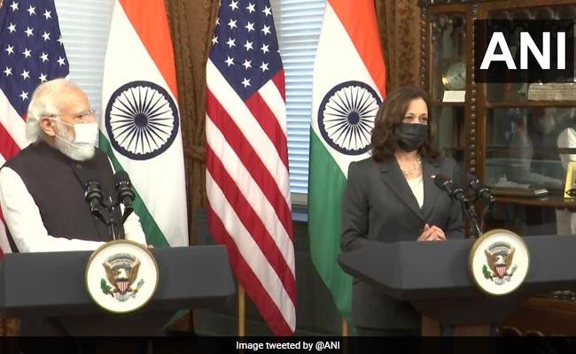 PM Modi US Visit Highlights: PM Modi Meets Kamala Harris In Washington DC
