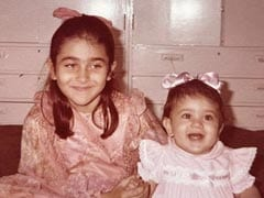 """To """"Best Sister"""" Kareena Kapoor On Birthday, With Love From Karisma"""