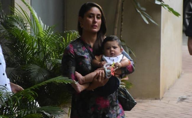 Kareena Kapoor Attends Niece Inaaya's Birthday Party With Baby Jeh And Taimur. Pics Here