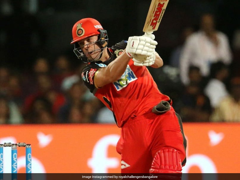 IPL 2021: AB de Villiers Hits Explosive Century In Royal Challengers Bangalores Warm-Up Game
