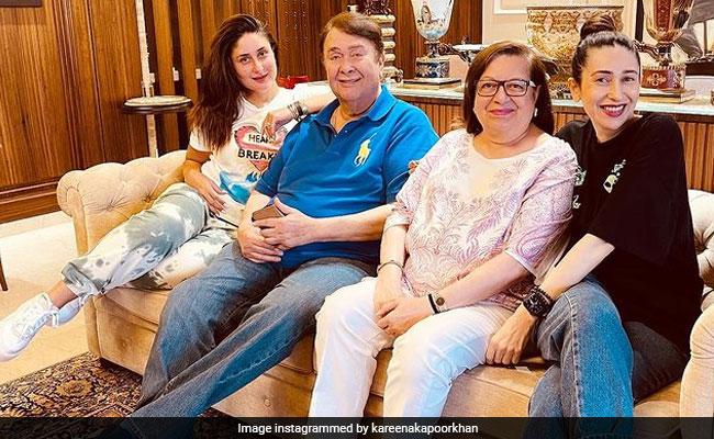 Kareena And Karisma's Favourite Weekend Hangout Is Dad Randhir Kapoor's Home. See Pic