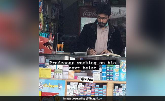 , 'Money Heist' Fans Spot Professor's Lookalike In Pakistan, The World Live Breaking News Coverage & Updates IN ENGLISH