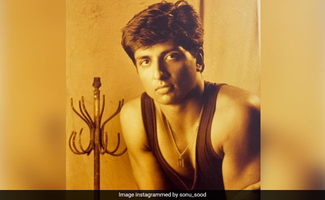A 'Historic Pic' From Sonu Sood's First Portfolio. Apparently, It Got Him Happy New Year