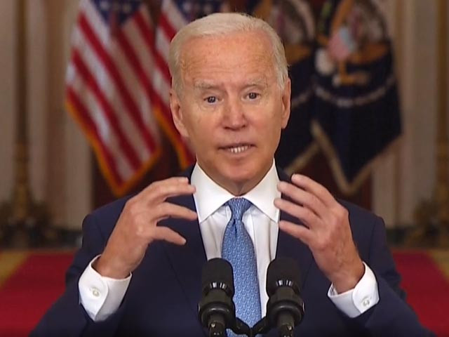 """Video : """"Take Responsibility For Decision"""": Joe Biden On Afghanistan Withdrawal"""