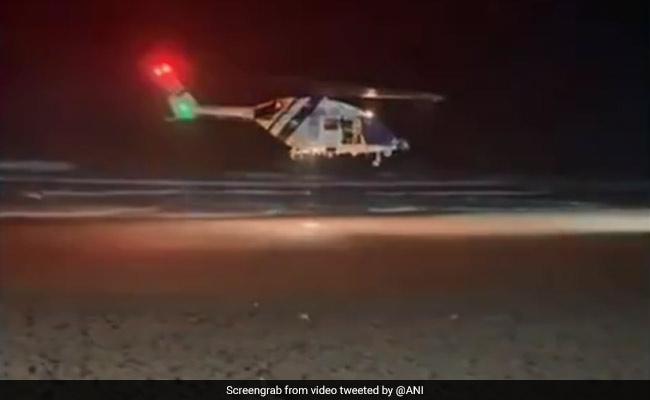 Video: 7 Rescued In 'A Daring Night Operation' By Coast Guard In Diu