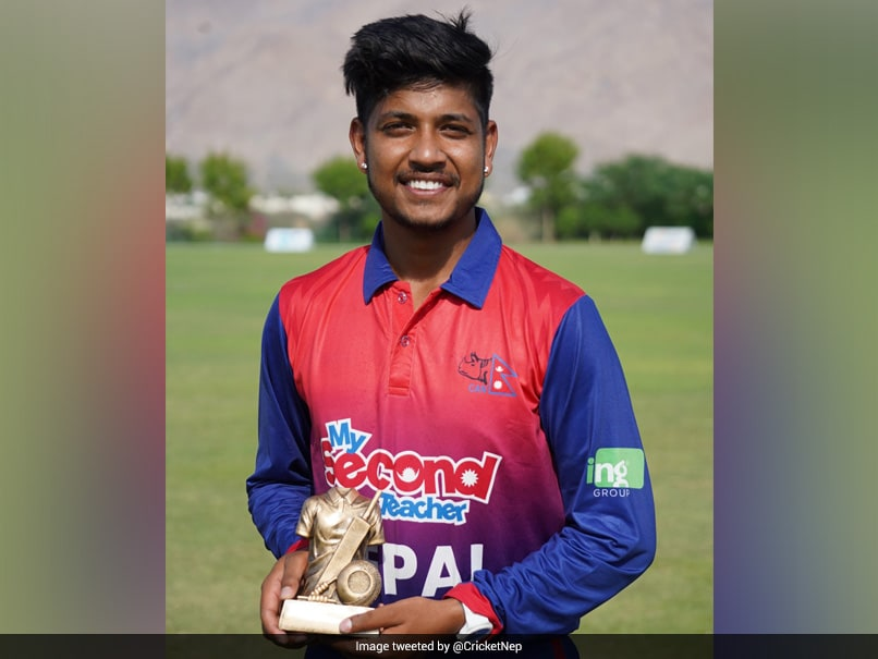 Sandeep Lamichhane Stars As Nepal Beat Papua New Guinea By 2 Wickets