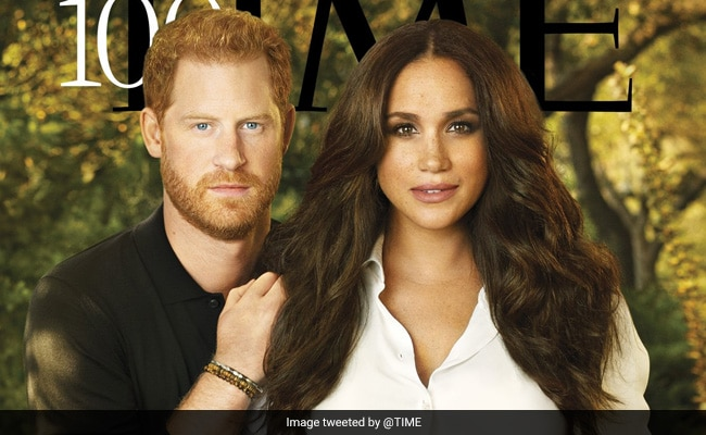 Harry And Meghan's Time Cover Roasted For Looking 'Airbrushed, Fake'
