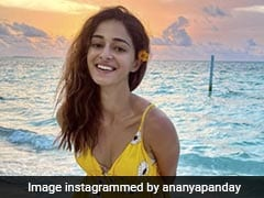 Ananya Panday Makes Chasing Sunsets Look Gorgeous With Her Own Sunshine Yellow Floral Dress