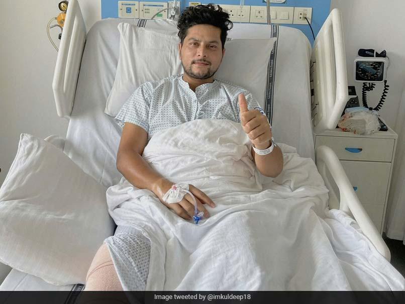 India Spinner Kuldeep Yadav Undergoes Successful Knee Surgery
